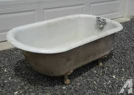 antique cast iron bathtub for sale antique ball foot cast iron tub for sale in lehighton