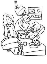 rock smile coloring dental activities