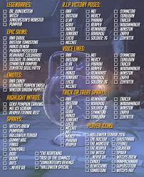halloween event items checklist overwatch