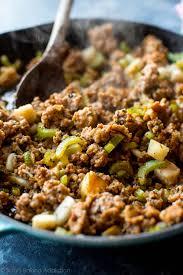 thanksgiving stuffing recipie make ahead cornbread stuffing sallys baking addiction