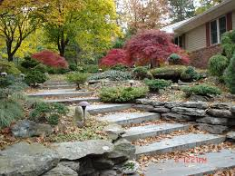 Rock Garden Pictures Ideas by Home Landscaping Rocks Decorative Landscaping Stone Black
