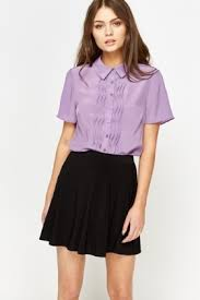 lilac blouse lilac ruffle front blouse just 5