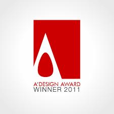design award a design award and competition award logo and badges