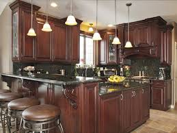 100 granite with cherry cabinets in kitchens slate flooring