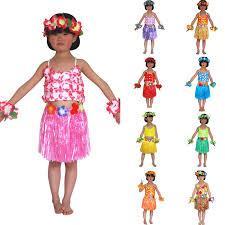best sales sweet lovely baby clothes 5 pcs hawaiian fancy hula