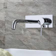 bathtub faucet wall mount hpb contemporary copper concealed basin mixer hot and cold water