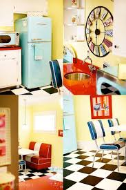 Best FIFTIES THEME ROOMS Images On Pinterest Basement Ideas - Fifties home decor