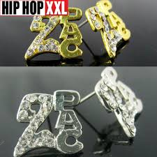 tupac earrings 2pac tupac earring hiphop stud earring earrings doodle hip hop