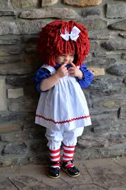 Raggedy Ann Costume Raggedy Ann Costume Babysize With Wig And Socks By Mackaboollc On