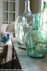 Home Decor Glass Trash To Treasure Demijohn Bottles Bottle Candleholders And