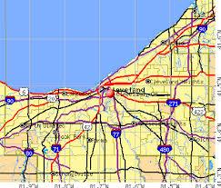 map of cleveland cleveland ohio oh profile population maps estate