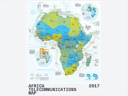 Interactive Map Of Africa by Africa Telecommunications Map