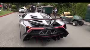lamborghini veneno driving review 2017 lamborghini veneno sound start up driving on the