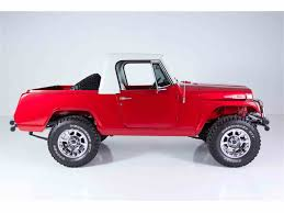 custom jeep red 1969 jeep commando custom for sale classiccars com cc 919953