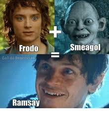 Smeagol Memes - frodo smeagol got da depressao ramsay meme on me me