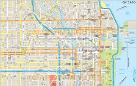 chicago map chicago map usa map guide 2016