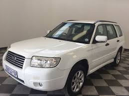 subaru crossover 2005 used subaru forester 2 5 xs m t for sale