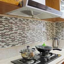 tile decals for kitchen backsplash bluelans 3d tile pattern kitchen backsplash stickers mural wall