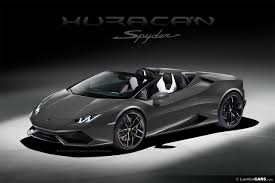 Lamborghini Huracan Grey - the lamborghini huracan lp610 4 spyder is unveiled