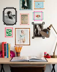 how to hang picture frames that have no hooks no frames needed 6 ways to hang pictures in your dorm room