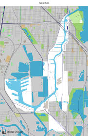Green Line Chicago Map by Map Of Building Projects Properties And Businesses In Calumet