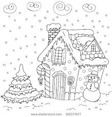 printable gingerbread house colouring page gingerbread house pictures to color medcanvas org