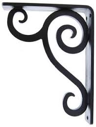 Iron Corbels For Granite Countertops Mcor1 Black Wrought Iron Metal Corbel Granite Countertop Support