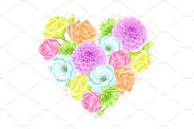 blossom floral designer kit objects creative market