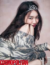 shin min ah is charming as cosmopolitan cover news kpopstarz