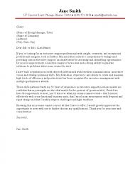 executive assistant cover letter assistant cover letter
