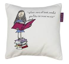 matilda cushion by roald dahl wallpaper direct