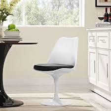 amazon com modway lippa modern dining side chair with vinyl