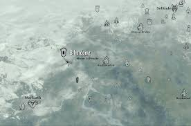 Skyrim Treasure Map Iv Image Bthardamz On Map Png Legacy Of The Dragonborn Fandom