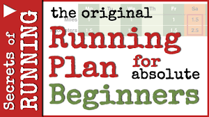 a running plan for absolute beginners youtube