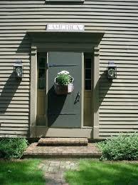 Colonial Exterior Doors Colonial Front Doors Green Exterior Coop Ideas Hanging Lantern Use