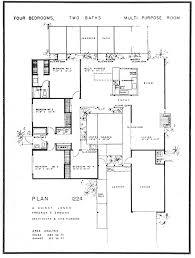 Duggar Home Floor Plan A Quincy Jones Floor Plan 1224 Eichler Pinterest Mid Century