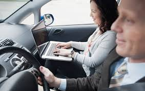 mobile laptop desk for car ergonomics in the mobile office travelers insurance