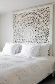 White Wooden Headboard White Wood Headboard Foter