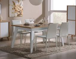 Dining Room Furniture Montreal Modern Montreal Extending Dining Table In Matt White Or Anthracite