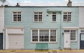Property Of The Month A Charming Mews House In Kensington  London