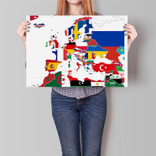 Europe Flag Map by Online Get Cheap Countries Europe Map Aliexpress Com Alibaba Group