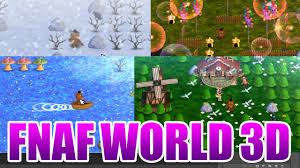 mundo en 3d fnaf world gamejolt descarga el juego gratis youtube