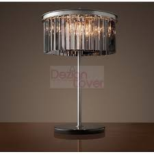 Restoration Hardware Table Lamps Rh Rhys Prism Round Crystal Table Lamp Design By Restoration