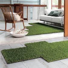 Green Turf Rug Artificial Grass Rug Outdoor Roselawnlutheran