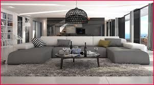 salon canap gris salon canapé gris 65968 canape moderne avec canap d angle en u relas