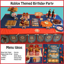 themed party supplies great ideas for a roblox themed party all party supplies and favors