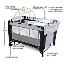 Portable Baby Change Table Portable Cot The Ultimate Travel Cot For Baby Sweet Elephants