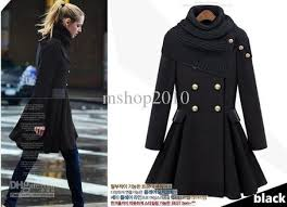 wholesale fashion winter clothing expansion skirt double breasted