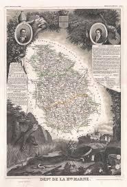 Champagne France Map by File 1852 Levasseur Map Of The Department De La Haute Marne