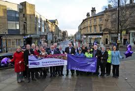 Purple Flag Flying The Purple Flag For Bury Bury Council